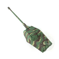 HengLong 1/16 4th 2.4Ghz King Tiger RC Tank 3888 Turret W/ Flash Recoil Barrel