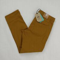 PrAna Men`s Stretch Zion Straight Hiking Pants Size 34x30 36 Brown Nylon Outdoor