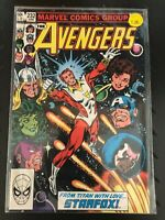 THE AVENGERS #232 Marvel Comics 1983 bagged VF/VF+ NICE COMIC! Starfox