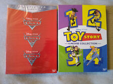 Cars 1-3 & Toy Story 1-4 Dvd 1,2,3,4 Bundle Movie Collection Sealed Brand New