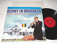 "Benny Goodman & Orch ""Benny In Brussels-Volume I"" 1970's Jazz LP, Nice NM-!"