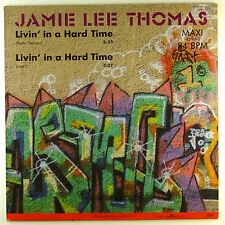 "12"" MAXI-Jamie Lee Thomas-Livin 'in a hard time-a4679-Slavati & cleaned"