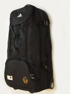 Adidas Trolley XL ** GROß * Reisetasche Germany Adler RAR * Tasche Deutschland