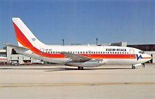 SAHSA Boeing 737-2T5 c/n 22396 HR-SHI (Honduras) (Canada)  Airplane Postcard