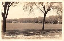Rppc, Iowa Ft Des Moines Parade Ground 1943 Real Photo Postcard