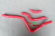 For Yamaha Raptor 660 2001 2002 2003 2004 2005 silicone radiator hose red new