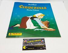 1980s - Vintage Panini Walt Disney Cinderella Sticker Album New Unused