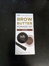 Billion Dollar Brows BDB Brow Butter Pomade Kit TAUPE Full-Size New In Box NIB