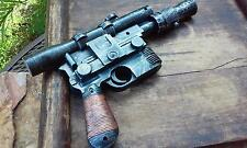 Han Solo DL-44 Blaster Harrison Ford Custom Hand Painted Star Wars Comic Con Pro