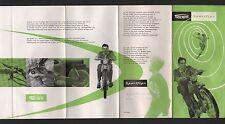 NÜRNBERG, Prospekt 1956, TRIUMPH Werke AG Moped Sport-Fips