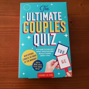 The Ultimate Couples Quiz Game For Gamenight Wedding Bachelorette Bachelor Party