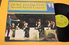 DUKE ELLINGTON 2LP SECOND SACRED CONCERT ITALY 1982 EX+ TOP JAZZ