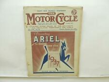 September 1936 THE MOTORCYCLE Magazine Ariel Sunbeam BSA Royal Enfield L8467
