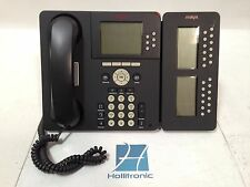 Avaya Anatel 9630 Black IP Office Telephone w/ SBM24 Expansion Module