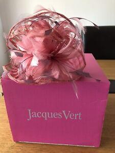 jacques vert fascinator Pink worn once