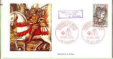 FRANCE FDC timbre N°YT 2070 sur carton ; jeanne d'ARC avec  commentaire   52M16