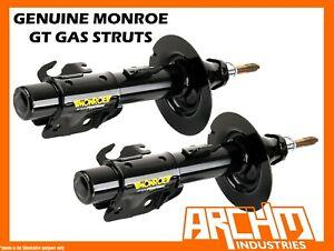 REAR MONROE GT GAS SHOCK ABSORBERS FOR NISSAN X-TRAIL T30 ST 4WD WAGON 01-06
