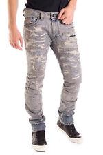 100% Authentic RRP €1010 DIESEL W31 L32 Men's THAVAR 0831U D.N.A Destroyed Jeans