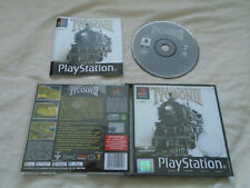 Railroad Tycoon 2 II PS1 (COMPLETE) strategy trains Sony PlayStation classic