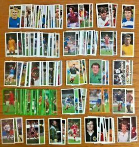 Barratt Bassett trade cards job lot all football footballers