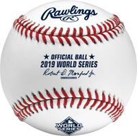 2019 MLB World Series Rawlings Official On-Field Baseball Washington Nationals H