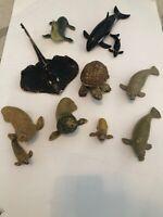 Vintage AAA Rubber Sea Animal Figures - Realistic-AAA