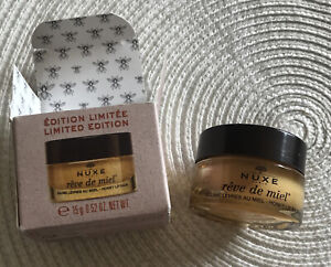 NUXE Reve de Miel Ultra Nourishing Honey Lip Balm 15g BNIB, Limited Edition