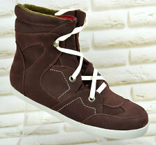 Even & Odd WOMENS Treiners Boots Burgundy Red Warm Shoes Size 7.5 UK 42 EU