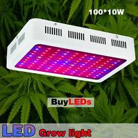 1000W LED Grow Light Kits Full Spectrum for Flower Plants Medical Veg