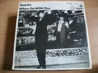 The Sparks - When I'm with you - 1980 Ariola 7""