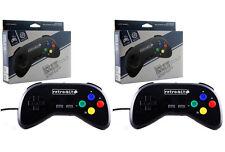 2x Wired Super Retro Controller Duo for SNES Retroduo Retroduo Portable - NEW!