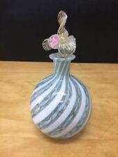 Murano Bottle Hand Blown Italian Art Glass