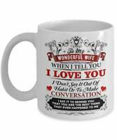 Wife Mug For Wife Gift For Wife Coffee Mug Wife Cup For Her From Husband