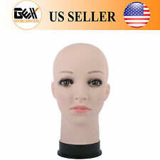 GEX Female Cosmetology Bald Mannequin Head Wigs Hats Display& For Making Wigs
