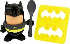 Batman Egg Cup Topper & Toast Stamp Cutter Spoon Breakfast Set