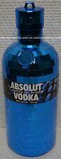 Absolut Vodka (No Bottle) Blue Disco Mirror Collectible Bottle Case