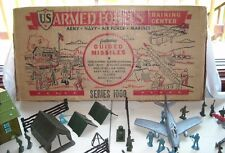 MARX COMPLETE 1955 U S Armed Forces Training center #4150 Series 1000  Ex-NM C9