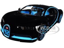 BUGATTI CHIRON 42 BLACK LIMITED EDITION 1/24 DIECAST MODEL CAR BY MAISTO 31514