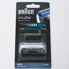 BRAUN CruZer Foil & Cutter 20S CruZer1 CruZer2 CruZer3 5732 5733 5734 5730