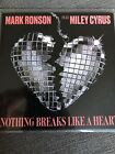 """MARK RONSON FT MILEY CYRUS """"NOTHING BREAKS LIKE A HEART"""" New 6 Remix Cd Promo"""