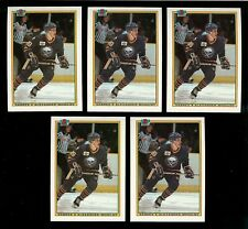 1990-91 BOWMAN #240 ALEXANDER MOGILNY ROOKIE CARD HOCKEY LOT of (5)