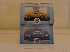OXFORD DIECAST, 76TS001 & 76TP004,  COLLECTION OF 2 TRIUMPH CARS