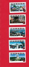 2004  # 2019 TO 2023  CANADA STAMPS  COMPLETE SET TOURIST ATTRACTIONS MINT  CHB