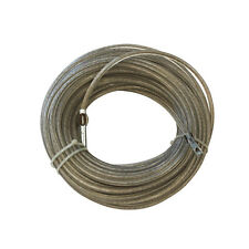 Plastic Coated Stainless Wire Rope 22 Metres Long