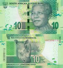 **   AFRIQUE du SUD     10  rand   2014   p-138a    UNC   **