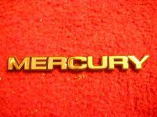 NEW 1979 - 1986 MERCURY CAPRI COUGAR LN7 TRUNK DECKLID NAMEPLATE EMBLEM BADGE