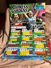2005 Cypress Gardens Adventure Park Splash Island Calendar Before Closed LEGO