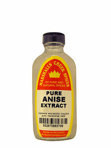 Marshalls Creek Spices PURE ANISE EXTRACT  8 oz - Kosher
