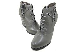 BACIO61 PESANTI ANKLE BOOT WOMEN'S DUST GREY US SIZE 10M NEW WITHOUT BOX