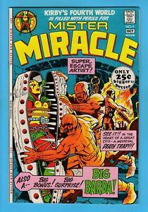MISTER MIRACLE # 4 VFN - 1st BIG BARDA APPEARANCE- HIGH GRADE_CENTS_KIRBY DC_KEY